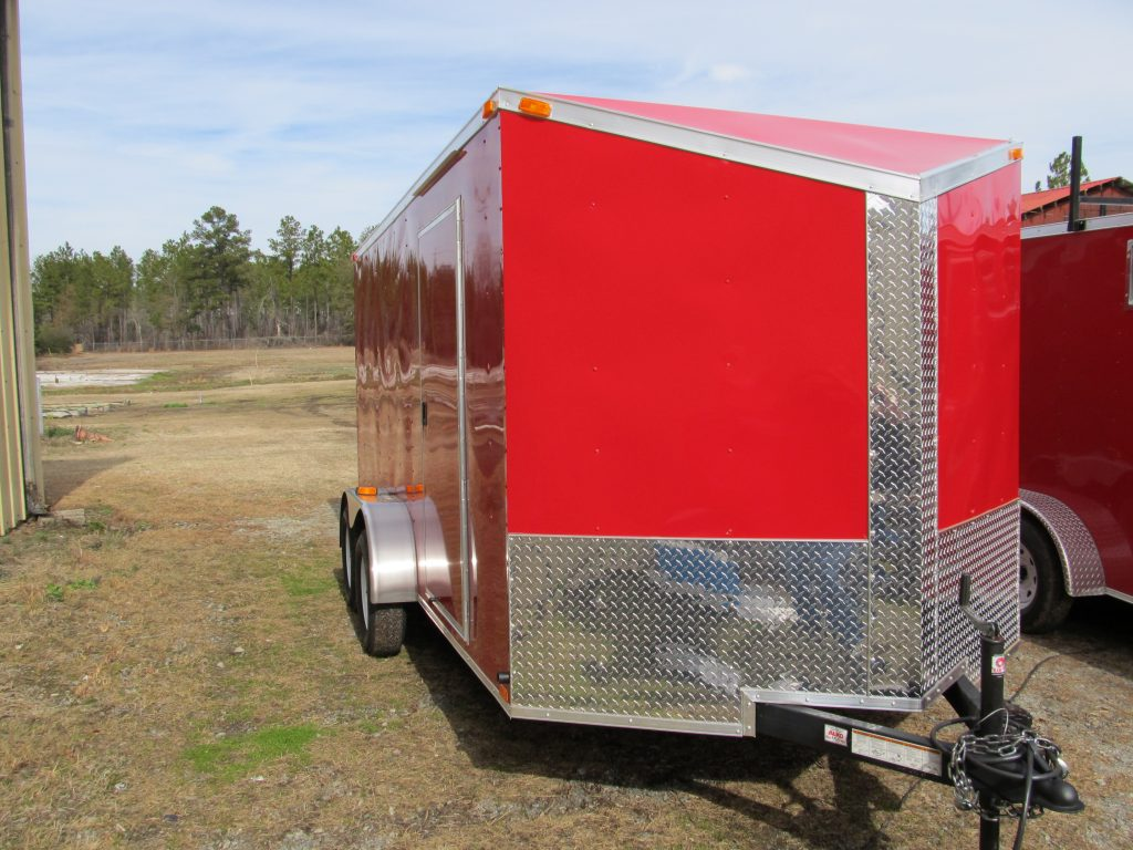 7x14 Single Axle With Extra Height Amp Brakes Trailer Id