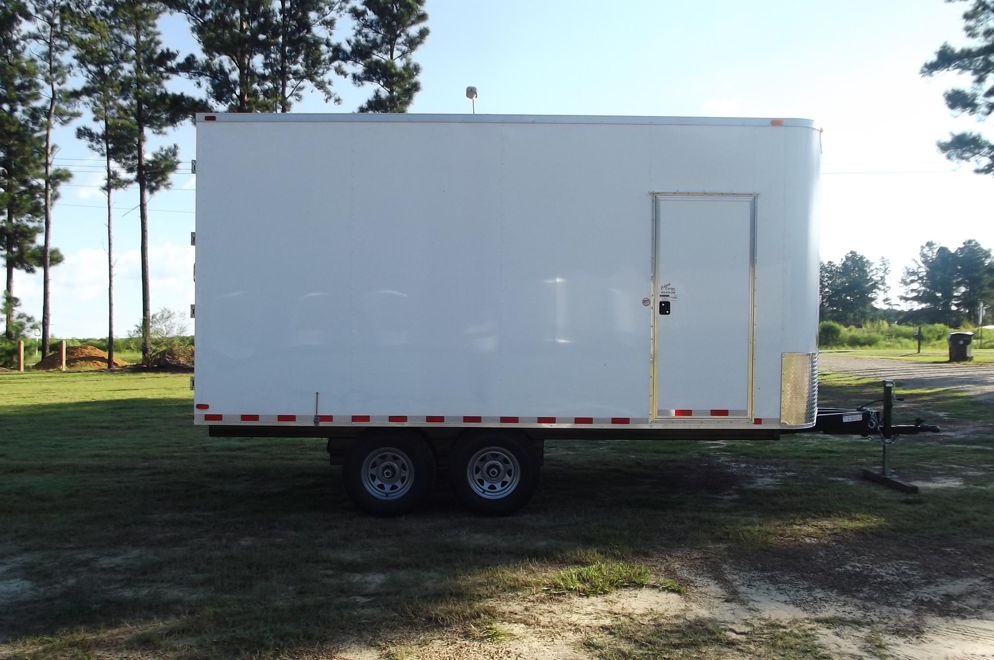 Colony S 8 5x16 Enclosed Deckover Trailer 734 Xtra Tuff