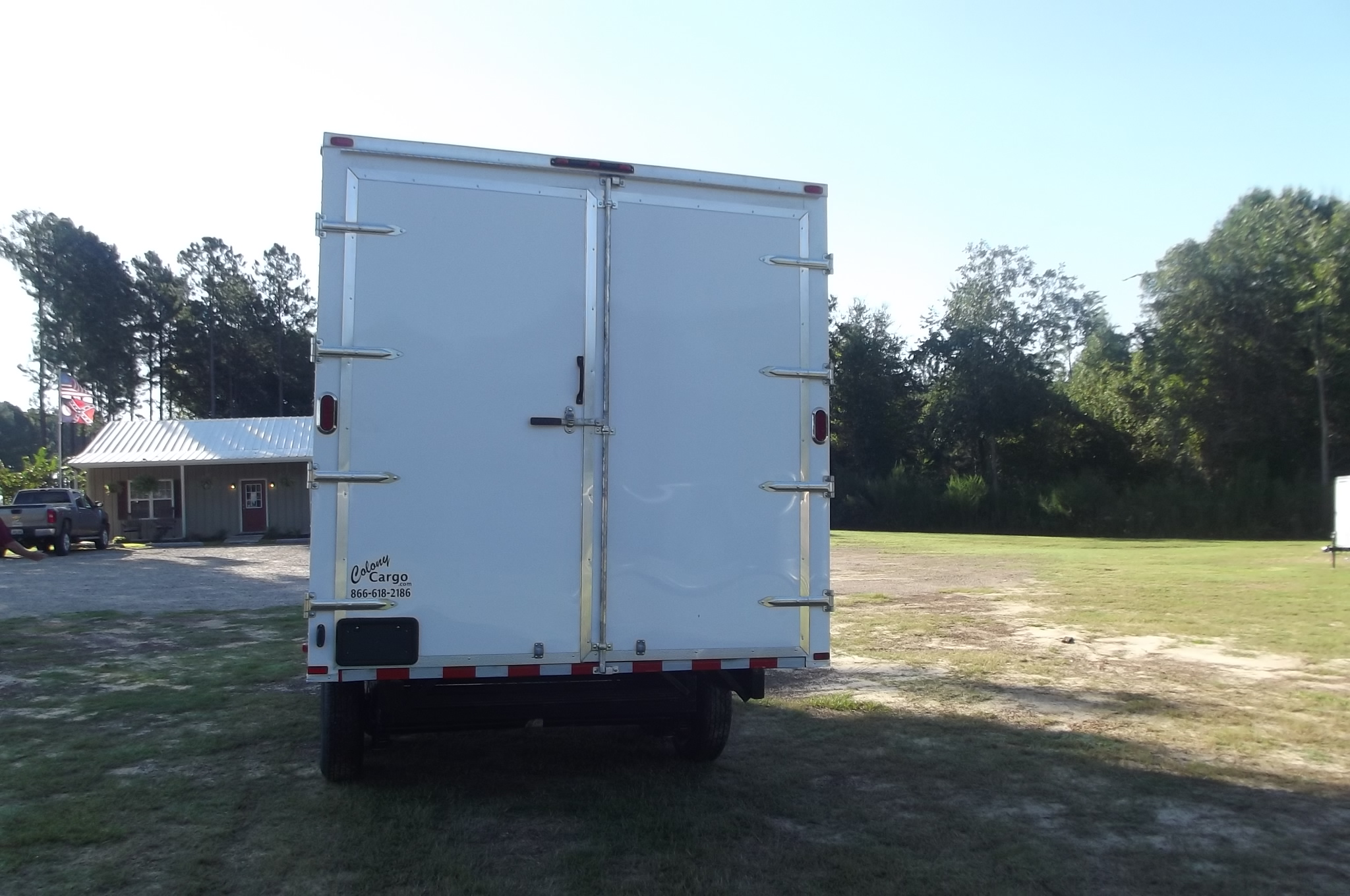 Colony S 8 5x16 Enclosed Deckover Trailer 734 Xtra Tuff