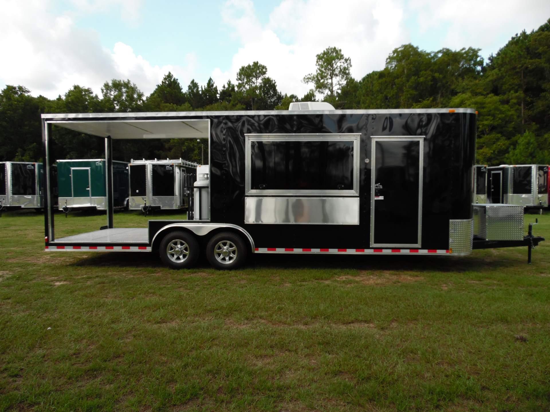 Colony S 8 5x24 Enclosed Porch Trailer 753 Xtra Tuff